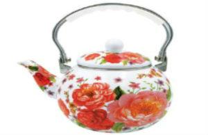 Чайники эмалированные