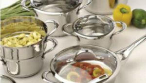 Наборы посуды из нержавеющей стали